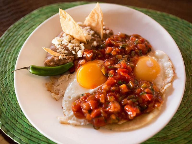 BREAKFAST RANCHEROS