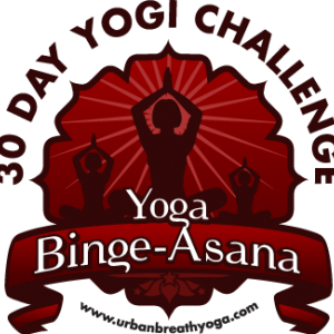 BingeAsana March 30 Day Yoga Challenge